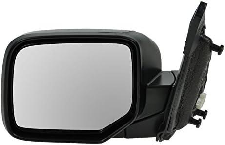 Side View Mirror Power Black Driver Left Hand LH for 09-13 Honda Pilot