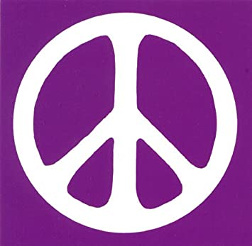 Peace Sign Magnetic Bumper Stickers
