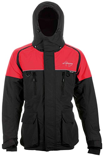 Lake Effect Nomad Ice Jacket (Black/Red, Medium) Review