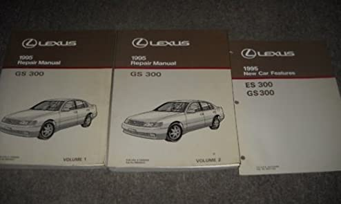 1995 lexus gs300 gs 300 service shop repair manual set 2 volume set rh amazon com 1995 lexus es300 owners manual pdf 1995 lexus es300 repair manual pdf