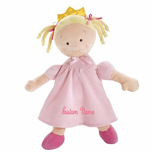Personalized Little Princess Doll - 16 Inch - Blonde, CUSTOM NAME