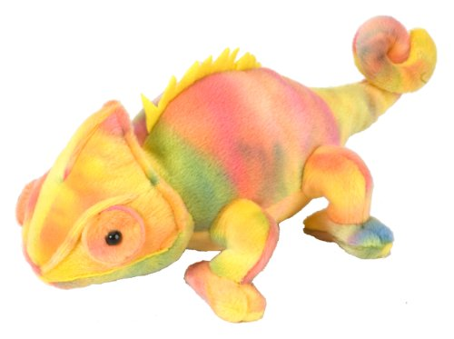 Wild Republic Chameleon Plush, Stuffed Animal, Plush Toy, Gifts for Kids, Cuddlekins 8 Inches]()