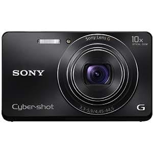 """Sony DSC-W690 - Cámara compacta de 16.1 Mp (pantalla de 3"""", zoom óptico 10x, estabilizador de imagen), color negro"""