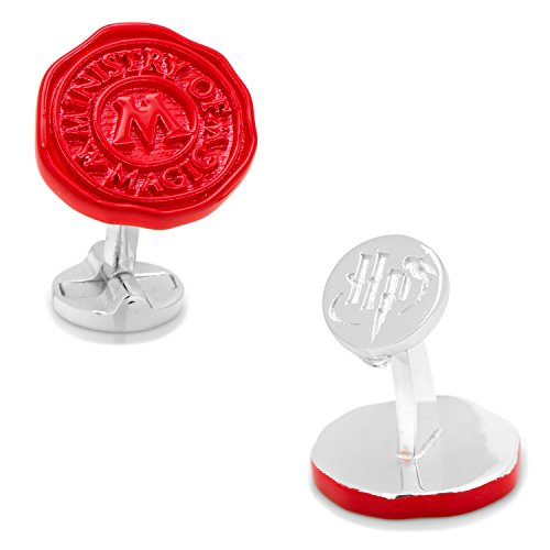 Harry Potter Ministry of Magic Wax Stamp Cufflinks, Officially Licensed by Cufflinks (Image #4)