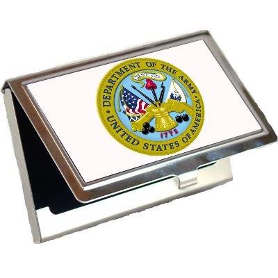 Army Logo Business Card Holder