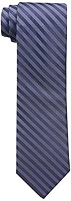 Calvin Klein Men's Satin Sheen Mini Bar Tie