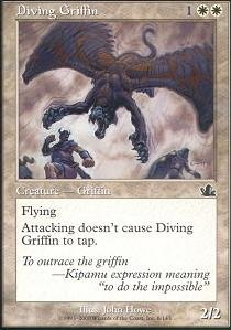 Magic: the Gathering - Diving Griffin - Prophecy - The Gathering Diving
