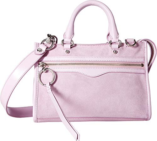 Rebecca Minkoff Women's Micro Bedford Zip Satchel Light Orchid One Size
