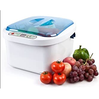 2014 New Brand Dental 12.8l Home Use Ultrasonic Ozone Vegetable Fruit Sterilizer Cleaner Washer Health for Fast Shipping By Fedex or DHL (1) Year Repairmen for Free Sold By Worldtopseller ((DHL)(Delivery Within 2-7 Days))