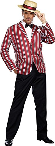 Dreamgirl Men's Good Time Charlie 1920s Style Costume, Multi, Large -
