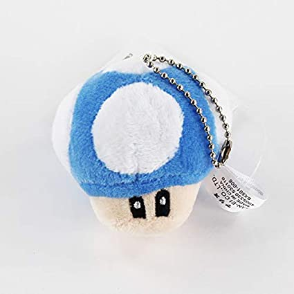 6 CM Super Mario Bros Luigi Yoshi Sapo Hongo Setas Suave ...