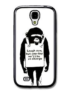 Banksy Laugh Now Case fits Samsung Galaxy S4 Street Art