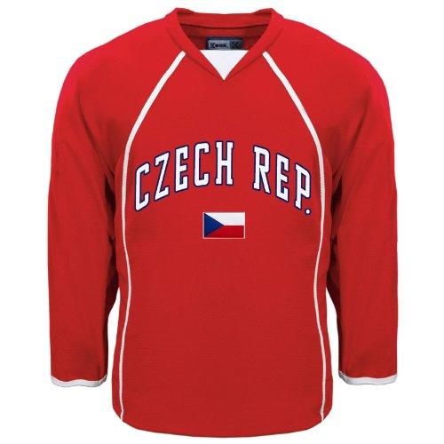IceJerseys Czech Republic MyCountry Fan Hockey Jersey - XX-Large