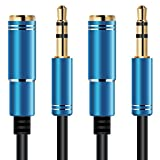 AFUNTA 2 pack Audio Extension Cable, 3.3