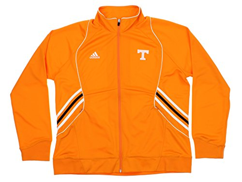 Tennessee Volunteers NCAA Womens Big Game Knit Warm-Up Jacket, Orange