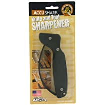 Accu Sharp 008 OD Texas Black Knife Sharpener