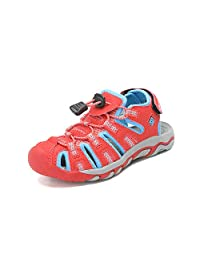 DREAM PAIRS Boys & Girls Toddler/Little Kid/Big Kid 160912-K Outdoor Summer Sandals