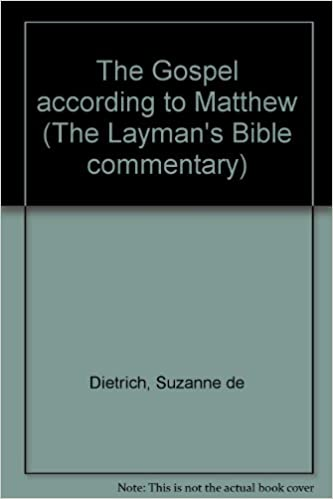 Book The Gospel according to Matthew (The Layman's Bible commentary)