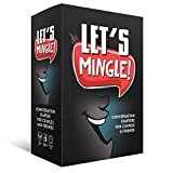 Let's Mingle Conversation Starters for Couples and Friends - 110 Fun & Interesting Conversation Starters for Adults - Fun Cards Game for Couples