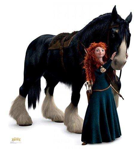 Merida and Angus - Disney Pixar's Brave - Advanced Graphics Life Size Cardboard (Disney Brave Merida)