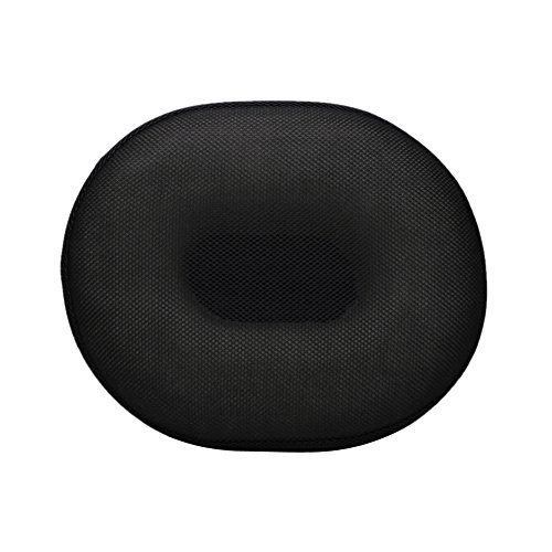 Misright Seat Cushion Memory Foam O Comfort Cushion for Coccyx Pain Relief , Hemorrhoids, Prostate, Ring Comfort Donut Pillow New (Black)