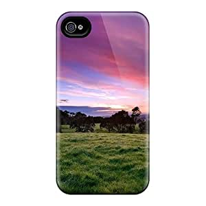 New Arrival Iphone 4/4s Case Beautiful Morning Green Case Cover