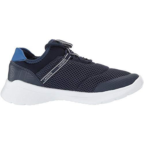 Armada Entrenadores Lacoste Dash Zapatos Textil 1 Lt 119 Armada azul Jóvenes fqfwv1H