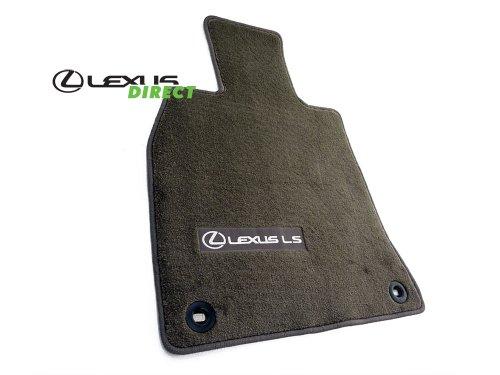 Lexus Genuine Parts PT208-50130-40 OEM LS460 Brown 4-Piece Carpet Floor Mat Set, SWB, Short-Wheel - Lexus Base Ls460
