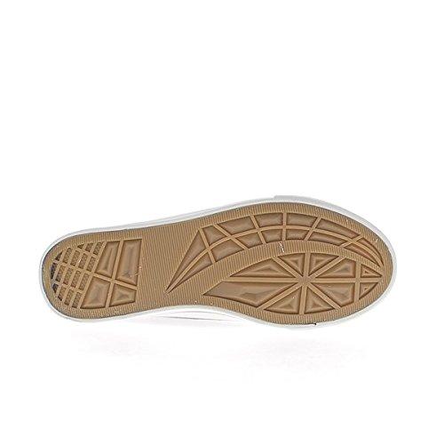 Mujeres zapatillas planas de lona suela y negro brillante