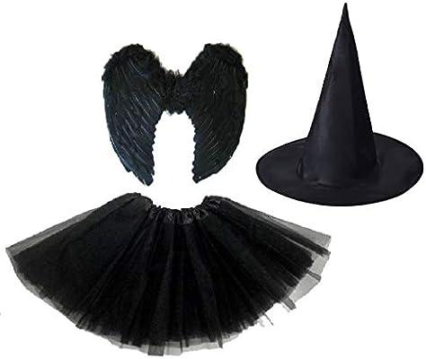 Sky Online - Disfraz de hada oscura para Halloween, color negro ...
