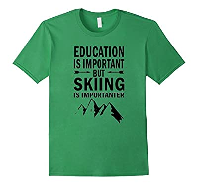 Funny Skiing Lover Quotes Gift, Ski Loves Funny T-Shirt