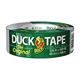 "The Original Strength Duck Tape Brand Silver Duct Tape, 1.88"" x 60 YD Single Roll, 394475"