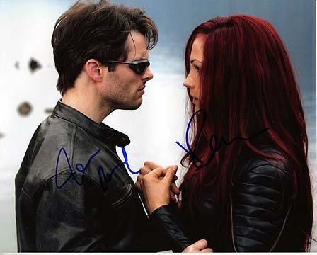 X MEN 3 - Last Stand (Famke Janssen & James Marsden) 8x10 Cast Photo Signed In-Person