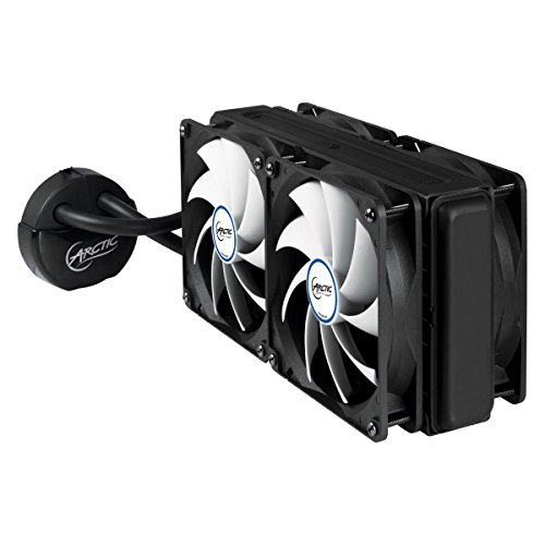 ARCTIC Liquid Freezer 240, High Performance CPU Water Cooler with Four 120 mm Low Noise Fans, 240 x120 mm Radiator, MX-4 Thermal Compound included