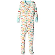 Moon and Back Baby Organic One-Piece Footed Pajamas