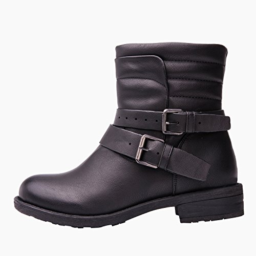 GLOBALWIN Women's 17YY12 Fashion Boots - stylishcombatboots.com