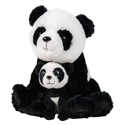 """11"""" and 5.5"""" Birth of Life Panda Plush Toy By Hands On Learn"""
