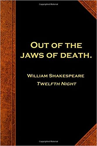 Amazoncom Shakespeare Quote Journal Jaws Of Death Notebook