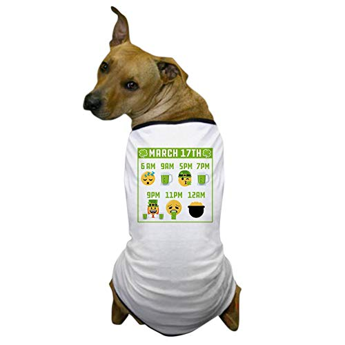 CafePress March 17Th Schedule Dog T Shirt Dog T-Shirt, Pet Clothing, Funny Dog Costume ()