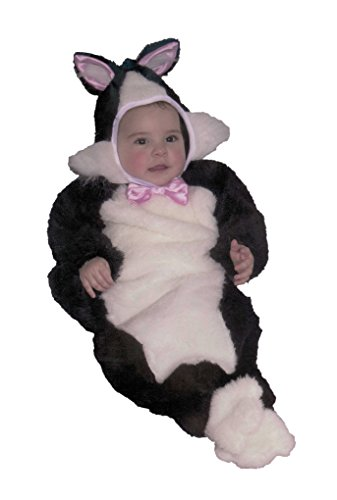 [Baby Tuxedo Kitten Bunting] (Infant Sylvester Costumes)