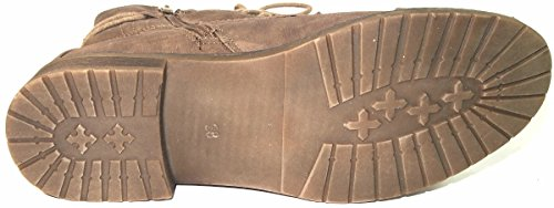 Jane 256 grau 052 Damen 261 Dkl Schnürer Boots Stiefelette Klain 1Cqrxf0w1A
