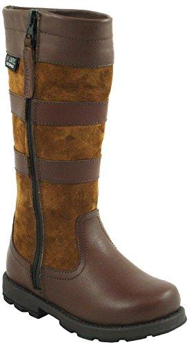 Kanyon Alberello impermeabile stivali in marrone Child1EU33