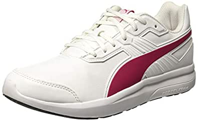 PUMA Women's Escaper Sl, White-Love Potion,6H Running Shoes