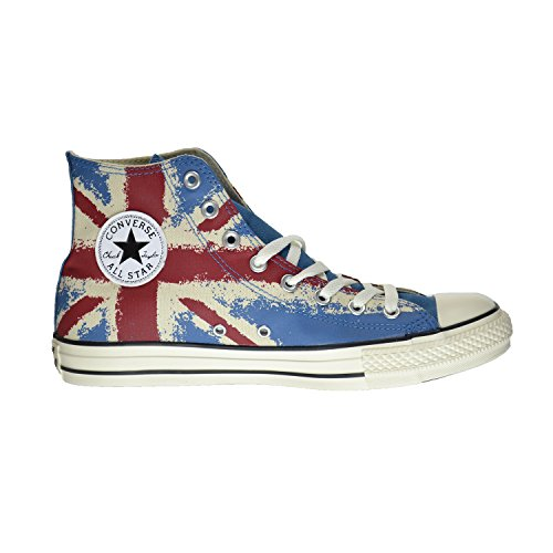 Converse All Star Unisex Shoes Atlantic/Red/Blue 149497f (9.5 D(M) US)