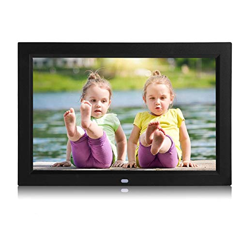 12 inch Digital Photo Frame Widescreen Electronic Picture Frame High Resolution Ultrathin HD1080P Picture MP3 MP4 Movie Player (Best Digital Frame 12 Inch)