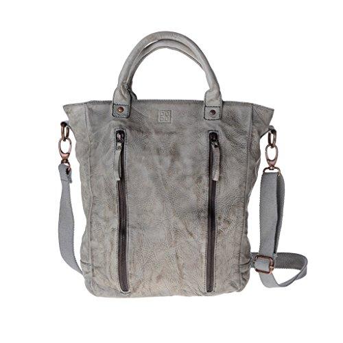 Dudu - Sac porté épaule - Timeless - Shopper - Gris - Femme