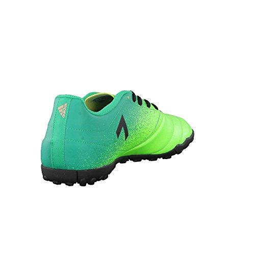 Adidas Ace 17.4 Tf, para los Zapatos de Entrenamiento de Fútbol para Hombre, Verde (Versol/Negbas/Verbas), 41 EU