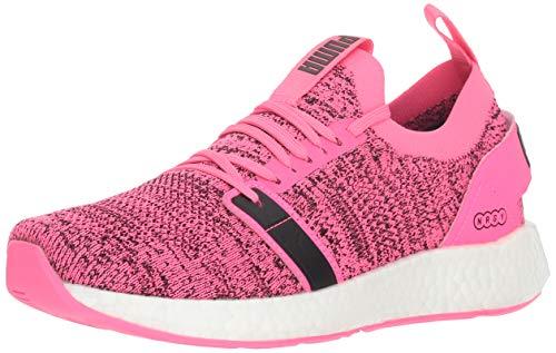 PUMA Women's NRGY Neko Engineer Knit Sneaker, Knockout Pink Black, 8.5 M ()