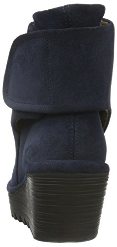 Yegi689fly Boots Ankle Women's 002 London Fly Blue Ocean AB6HqpO