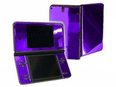 Dsi Xl Skin - Nintendo DSi XL Color Skin (DSi-XL) - NEW - PURPLE CHROME MIRROR system skins faceplate decal mod